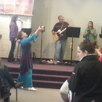 Worshipping The Lord Jesus at NCM!