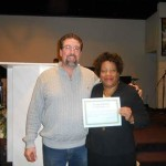 Brenda Craven is ordained a minister of the gospel here at New Covenant Ministries February 1, 2015